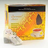 Чай черный Gurmans Choice SELECTION, 100 пакетиков, 150г