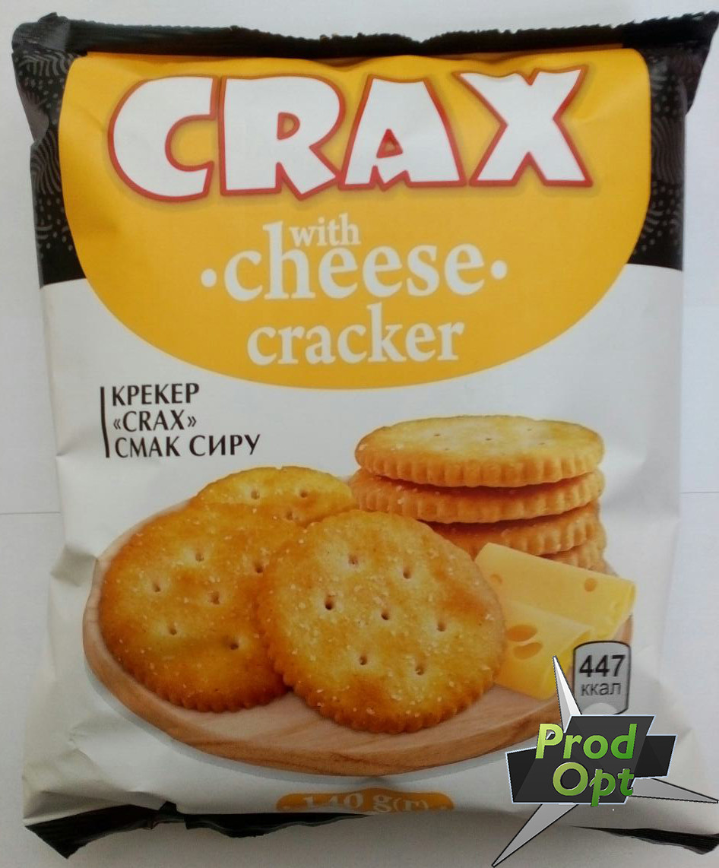 Крекер з сиром CRAX 140 г