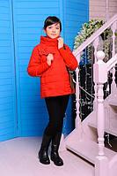 Детская курточка «Миледи», красная