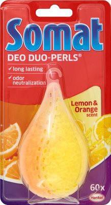 Ароматизатор для посудомоечной машины Somat Deo Duo-Pearls Lemon & Orange, фото 2
