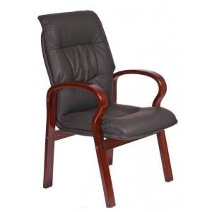 Кресло конференционное Монако, кожа
