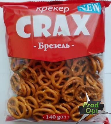 Печиво Брезель з сілью CRAX 140 г, фото 2