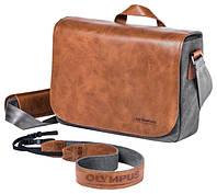 Сумка Olympus OM-D Messenger Bag Leather + Strap
