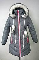 Зимнее пальто-парка.