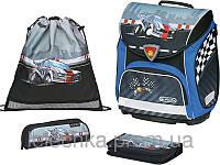 Школьный ранец Herlitz с наполнением Sporti Plus Ralley