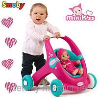 Ходунки Коляска для куклы Minikiss Smoby 210202