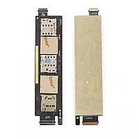 Слот (коннектор) сим карты и карты памяти для Asus ZenFone 6 (на 2 сим) Original