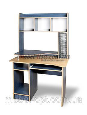 Компьютерный стол СКМ-2 (орех лесной. зеркальный), фото 2