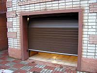 Ворота гаражные Alutech Trend пружины растяжения