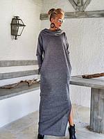 Платье макси свободный силуэт