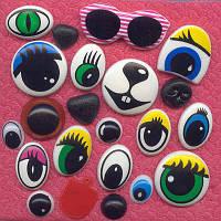 Глазки и носики