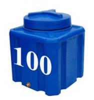Емкость прямоугольная горизонтальная 100 литров