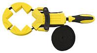 Режущий и зажимной инструмент Струбцина угловая плотницкая Бэйли 4-х угольная бандажная 4