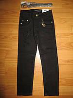 Котоновые  брюки на девочек Seagull 116-146 рр.