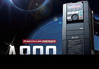 Частотный преобразователь (частотник, инвертор, VFD, VFC)  серии FR-A800 (846) Mitsubishi Electric