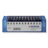 Набор бит 1/4 '' 48 шт. с магнитным держателем для бит, в пластиковом кейсе. (TX, PH, PZD)