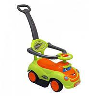 Машинка-каталка с толкателем Alexis-Babymix Q-63 (green)