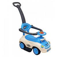 Машинка-каталка с толкателем Alexis-Babymix Q-63 (white)