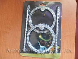 Заколка для штор 12*12 см серебро