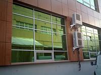 Зеркальная зеленая пленка Sun Control R Green 10