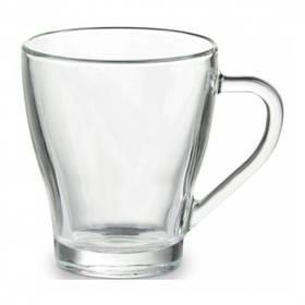 Чашка стеклянная на 265мл