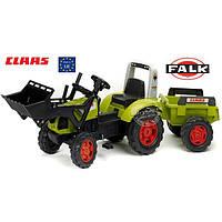 Трактор Педальный с Прицепом и Ковшом Claas Arion 430 Falk 1040М