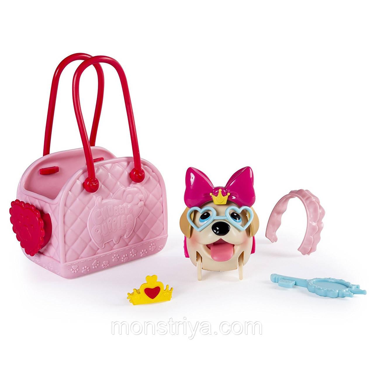 Набор Chubby Puppies Упитанные собачки Лабрадор с сумкой-переноской