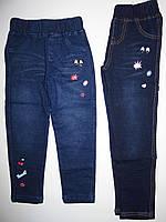 Лосины с имитацией джинсы для девочек  Grace , 98-128 рр.