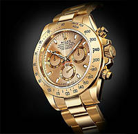 Мужские часы Rolex Daytona Gold (Ролекс) в подарочной упаковке