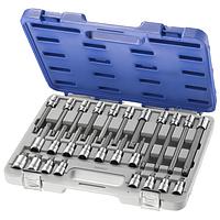 Наборы слесарного инструмента Набор головок, бит SPLINE 1/2  26 ед. (Артикул  E200515 )