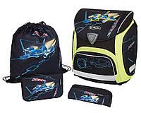 Школьный ранец Herlitz с наполнением Sporti Plus Spaceshuttle 11407724
