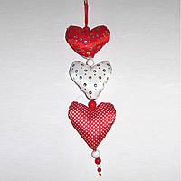 Сердечки - подвеска, Семейная Валентинка