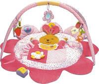 Развивающий коврик Baby Mix ТК/3133С Зайка Розовый