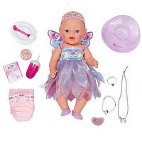 "Интерактивная кукла BABY BORN ""Фея"" 43 см Zapf Creation 820698"