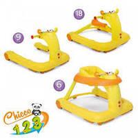 Детские ходунки Chicco 123, цвет Orange