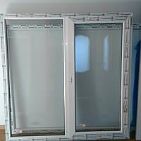 Готовое окно в хрущевку 1450х1460  энергосбережение.