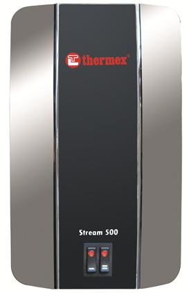 Водонагреватель Thermex Stream 500 Chrom (бойлер для нагрева воды)