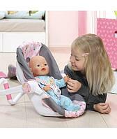 Кресло люлька Удобное путешествие для куклы Baby Born Zapf Creation 822265