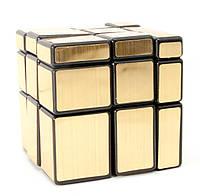 """Головоломка """"Зеркальный Куб"""" золото(6х6х6 см)"""