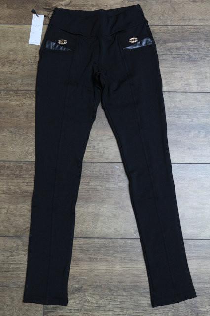 Леггинсы черные для девочки 134-158 - Интернет бутик женской и детской одежды, обуви от производителя Quick Shop в Одессе