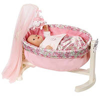 Колыбель с ночником для куклы Baby Annabell Zapf Creation 792865