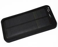 Внешний аккумулятор портативное зарядное устройство Solar Powerbox Power Bank 5000 mAh с солнечной батареей