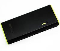 Внешний аккумулятор портативное зарядное устройство Meizu Power Bank 30000 mAh реплика фонарик 3 USB