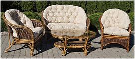 Мебель садовая, столы, диваны, плетеная мебель, кашпо из ротанга
