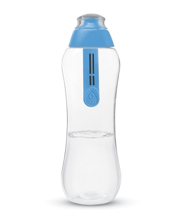 Бутылка Dafi с фильтром голубая, 500 мл