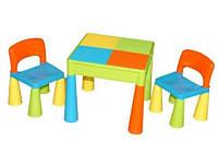 Столик и два стульчика TEGA Mamut. Цвет: разноцвет