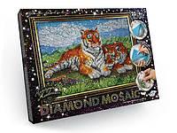 Алмазная живопись Diamond Mosaik DM-01-07  Тигры