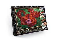 Алмазная живопись Diamond Mosaik DM-02-04  Маки 6634
