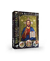 Алмазная живопись Diamond Mosaik DM-02-05  Икона Иисус 6634