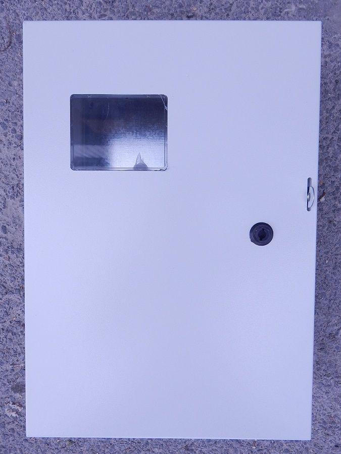 Бокс монтажный навесной скло  (IP54) БМ-50+П(350*500*220)